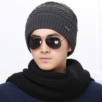 冬季男士帽子韩版潮毛线帽加厚针织帽秋冬天套头帽包头帽护耳男帽