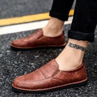阿美松 皮鞋男新款商务休闲鞋男士英伦复古时尚工装鞋休闲百搭系带男鞋正装鞋V6151