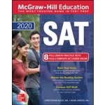 英文原版 麦格劳-希尔2020年SAT考试 McGraw-Hill Education SAT 2020