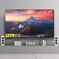夏普(SHARP)语音款LCD-60TX6100A 60英寸4K超高清智能语音遥控 2+32G内存 网络液晶平板电视机
