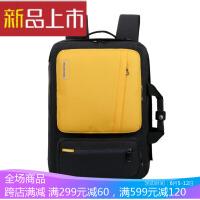 新款多功能平板内胆包休闲潮流双肩书包笔记本电脑包 17寸