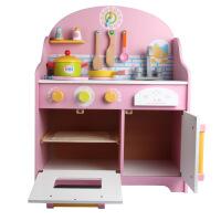 日式厨房过家家灶台日式儿童仿真玩具套装木制质益智水果切切乐
