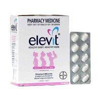 澳洲直邮 Elevit爱乐维 复合维生素片孕妇叶酸/多种维生素 100片/盒 海外购