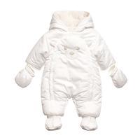 连体衣宝宝加厚棉衣外出抱衣6新生儿哈衣冬季