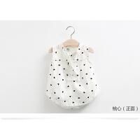 女童衬衫2018夏季新款无袖中小童休闲儿童棉宝宝背心衬衣童装