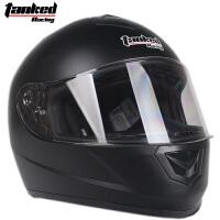坦克头盔摩托车全盔男女通用 冬季防雾头盔 四季机车跑盔T159