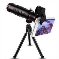 手机镜头演唱会神秘利器苹果7小米摄像头外置高清22倍长焦通用单反望远拍照镜头观月球 22x高清长焦望远镜通用【配三脚架】