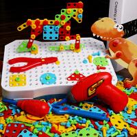 儿童拧螺丝拆装玩具益智男孩拼装工具箱套餐智力修理钉组装卸