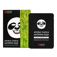 韩国 SNP 动物熊猫白皙保湿面膜 嫩白嫩肤 10片/盒