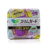 【当当海外购】日本花王LAURI乐而雅 夜用护翼型卫生巾 30cm 15片装 夜用型