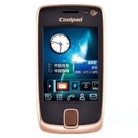 Coolpad酷派 D520 双模双待 电信3G  商务手机黑色256MB非**机官方标配