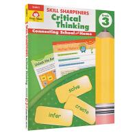 Evan-Moor Skill Sharpeners Critical Thinking Grade 3 小学三年级批
