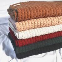 围巾女冬季百搭长款学生ins保暖针织粗毛线围脖少女冬天