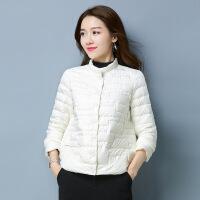 轻薄羽绒服女短款2018新款冬韩版黑色欧洲站女装小个子外套欧货潮