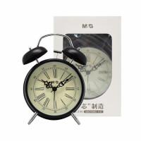 晨光复古闹钟 c92502客厅摆设4寸闹钟 定时钟 打铃钟 1个颜色随机