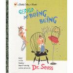 Gerald Mcboing Boing (Little Golden Book) 杰拉尔德 迈克啵嘤 啵嘤(苏斯博士,金色童书)9780375827211