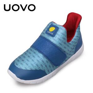 【每满100立减50】 UOVO儿童运动鞋男童运动鞋女童休闲鞋秋季新款中大童鞋透气轻便 里诺
