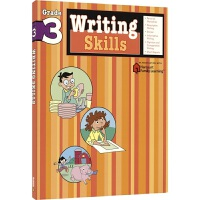 Harcourt Family Learning Writing Skills 写作技巧和思路 小学3年级练习册 儿童英