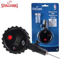 斯伯丁气压表篮球足排球类通用电子显示屏测压表压力表裁判专用8445SCN