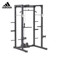 adidas阿迪达斯综合训练器 多功能史密斯机龙门架杠铃架家用商用大型健身器材龙门架ADBE-10500