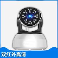 监控摄像头wifi无线套装家庭高清家用室内双红外远程监控器 64GB 1080p 2.8mm
