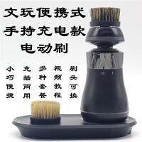 文玩刷子工具套装钢丝刷金刚菩提子橄榄核桃油保养清理*鬃刷毛