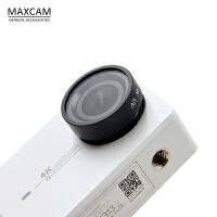 MAXCAM 小蚁4K/4K+运动相机 UV镜小蚁2二代CPL滤镜镜头保护盖配件
