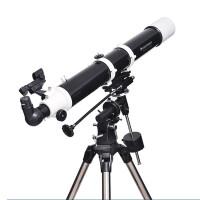 升级版星特朗DELUXE 80EQ 80/900入门折射式天文望远镜 不锈钢脚架摄影稳定镜可升级自动寻星
