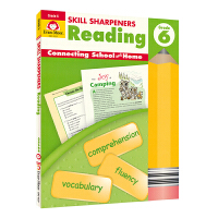 Evan-Moor Skill Sharpeners Reading Grade 6 小学六年级阅读练习册 美国加州教