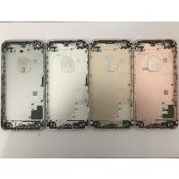 更换拆机苹iphone果5se6splus7后盖8px手机外壳电池后壳铁框