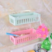 【包邮】厨房浴室整理置物架吸盘室多功能置物架床头置物架颜色随机