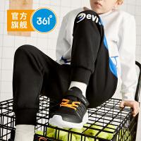 【新春半价购:99.5】361度童装 男童梭织长裤2020春季新品男童儿童运动裤休闲裤子 N52011701