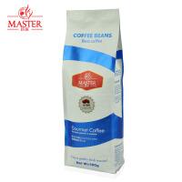 JUJIANG/巨匠 经典蓝标 摩卡咖啡豆 进口现磨纯黑咖啡粉 原装500g