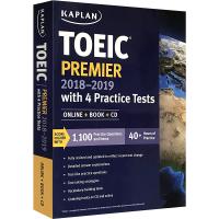 华研原版 卡普兰托业考试4套模拟题 英文原版 Kaplan TOEIC Premier 2018-2019 with