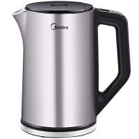 Midea美的电水壶HE1504a 1.5L容量 智能手柄控温 双层全钢烧水壶