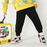 【品类日4件4折】巴拉巴拉童装儿童裤子男童长裤2021新款春装宝宝休闲牛仔裤时尚潮