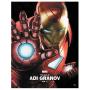 现货 漫威艺术专辑 阿迪・格拉诺夫个人艺术作品 英文原版 Marvel Monograph: The Art of Adi Granov 钢铁侠 波兰插画师