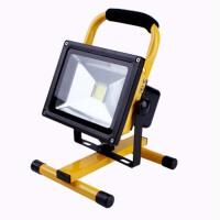 家用充电投光灯手提式户外防水照明灯球场露营广场LED应急灯