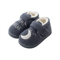 儿童拖鞋冬季宝宝棉拖鞋女童男童1-3岁室内小孩家居鞋