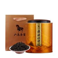 八马茶叶 武夷正山小种 红茶 自饮罐装正山小种250克