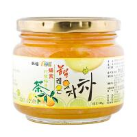 [当当自营] 韩国进口 韩福10.2 蜂蜜柠檬柚子茶 580g