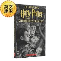 哈利波特与密室 英文原版科幻小说 Harry Potter Chamber of Secrets JK罗琳 布莱恩瑟兹