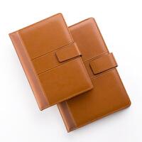 卡杰A5文具笔记本厚创意记事本定制商务办公复古皮面日记本子定制