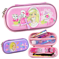 小学生笔袋儿童文具盒女童公主小清新多功能笔盒大容量铅笔袋