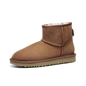 【现货】香港直邮UGG女士雪地靴防水防污新经典系列经典雪地靴1016222专柜正品