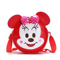 米妮儿童包可爱幼儿背包单肩包 女童休闲糖果包-岁腰包