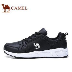 camel 骆驼运动户外休闲鞋男鞋 新品时尚运动板鞋 低帮系带男鞋