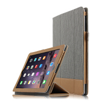 苹果iPad2/3/4保护套全包4拼色皮套包边2平板电脑壳3商务休眠防摔