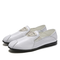 野图品牌男鞋夏新款头层牛皮豆豆鞋小皮鞋1863 皮鞋码- P105