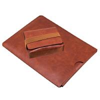 简约PRO5微软surface pro4 pro6平板电脑包 保护套3 笔记本内胆包 鼠标款 咖啡2件套